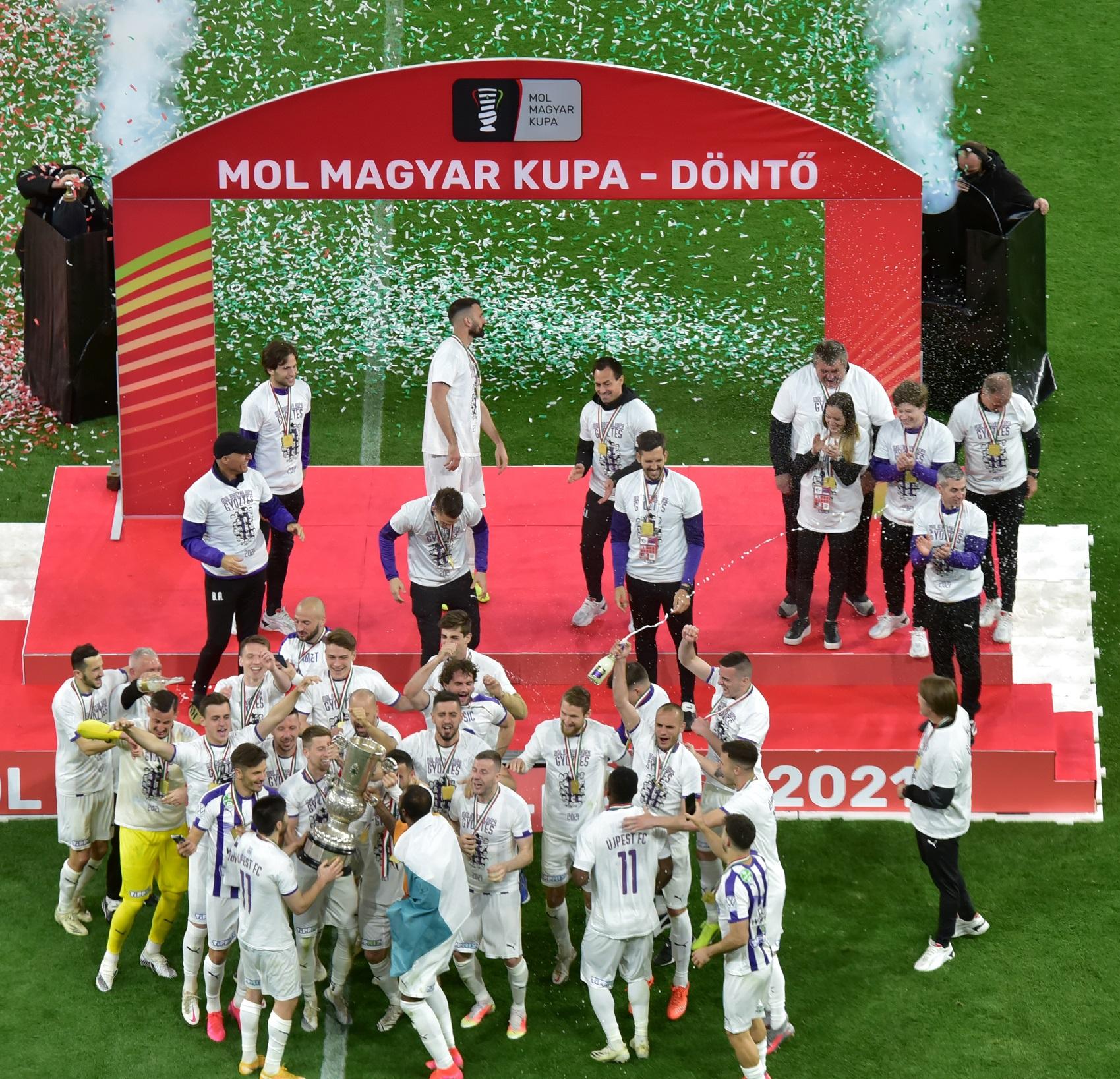 MOL Magyar Kupa Döntő 2021