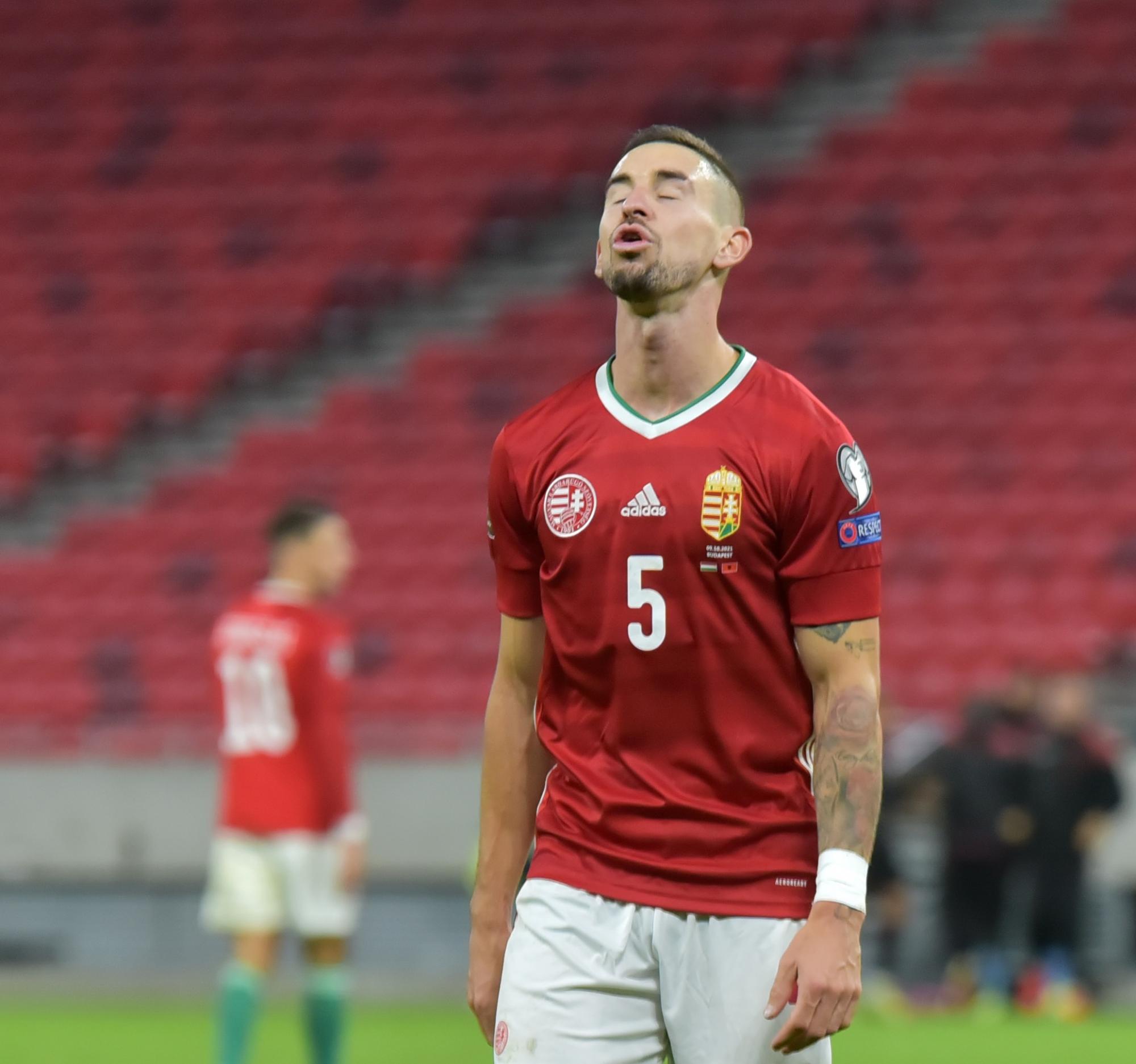 Magyarország-Albánia 0-1